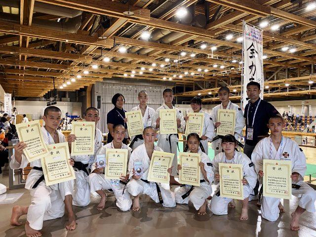 2021年7月30日~8月1日【少林寺拳法部】全国総体(インターハイ)で3位に入賞しました!